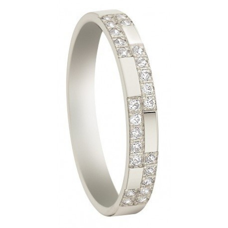 Alliance Pfterzel or 18 carats 750/1000 INSOLITE