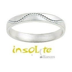 Alliance et CREATION fantaisie en or blanc 9 carats Girard