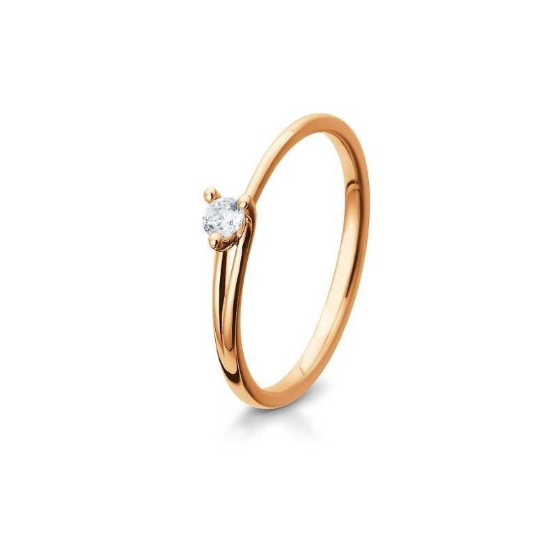 bague solitaire diamant originale