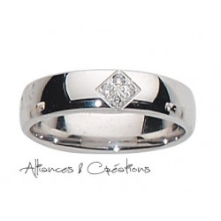 Alliance diamant & ors blanc