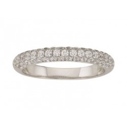 Alliance mariage or 750/1000 diamant or